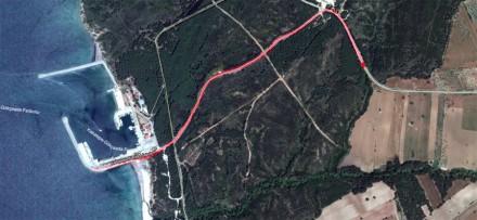 трафик от коли за ферибота към Гьокчеада
