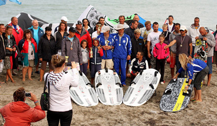 бургас кайт сърф състезание 2012