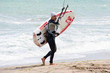 кайт сърф бургаски плаж състзание